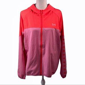 Under Armour Bright Orange Pink Jacket Size XL
